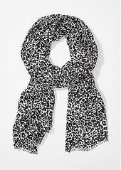 LOFT Leopard Print Scarf