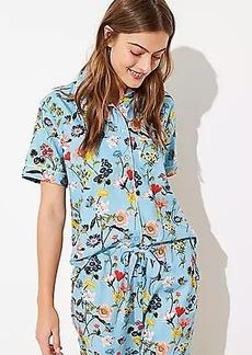 LOFT Lily Pajama Top