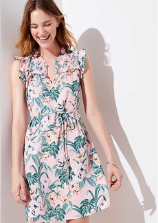 Lily Ruffle Tie Waist Dress