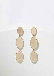 LOFT Linear Disc Drop Earrings