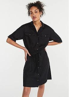 LOFT Linen Safari Dress