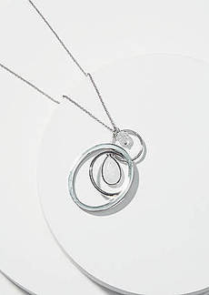 LOFT Linked Pendant Necklace