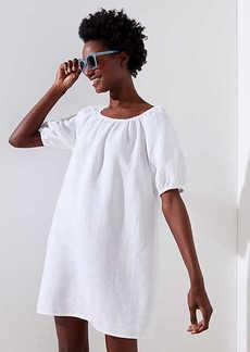 LOFT Beach Blouson Sleeve Dress