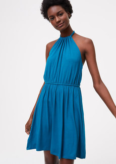 LOFT Beach Halter Dress