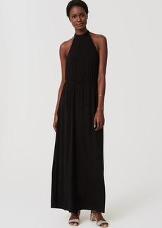 LOFT Beach Halter Maxi Dress