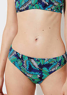 LOFT Beach Palm Reversible Bikini Bottom
