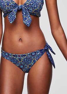 LOFT Beach Side Tie Hipster Bikini Bottom