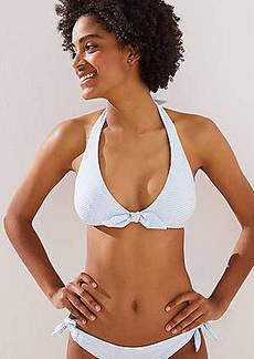 LOFT Beach Striped Halter Bikini Top