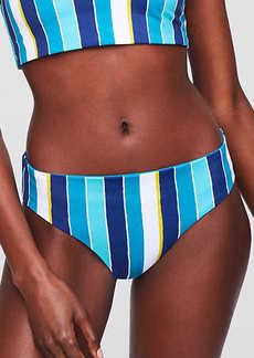 LOFT Beach Striped Reversible Hipster Bikini Bottom