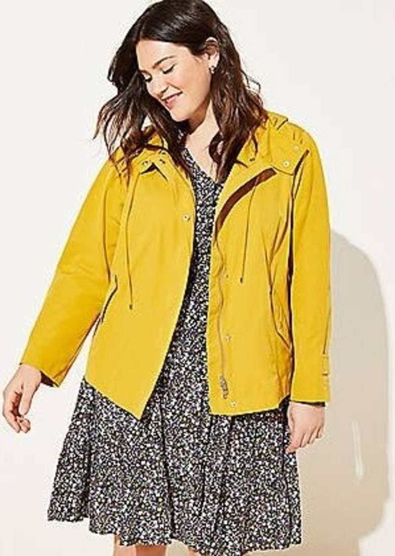 LOFT Plus Back Pleat Anorak