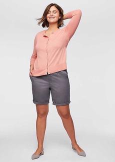 LOFT Plus Bermuda Roll Shorts