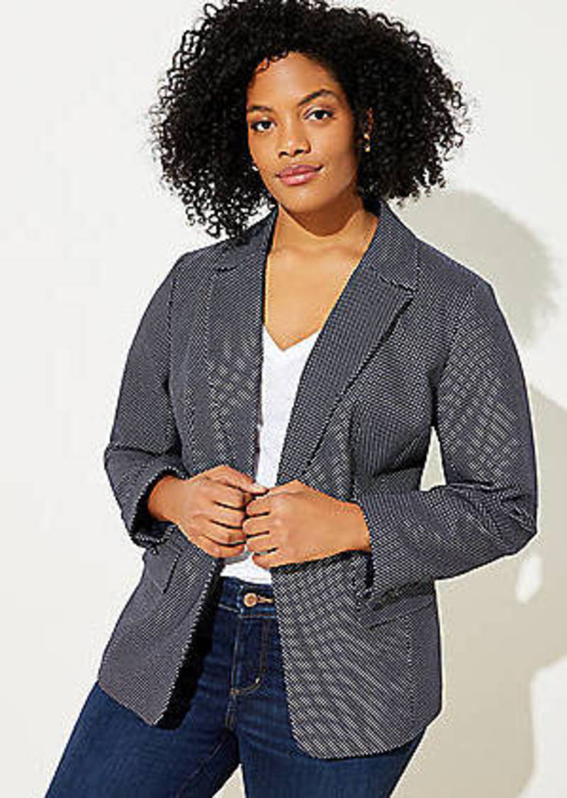 LOFT Plus Dotted Blazer