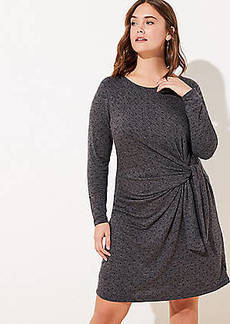 LOFT Plus Dotted Wrap Dress