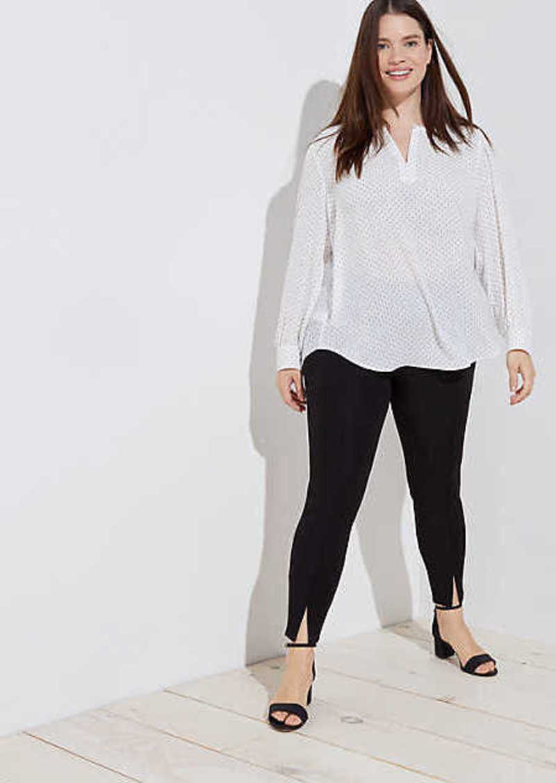LOFT Plus Front Slit Leggings