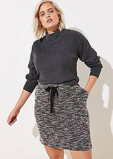 LOFT Plus Knit Jogger Skirt