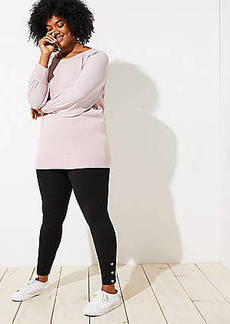 LOFT Plus Leggings in Snap Cuff