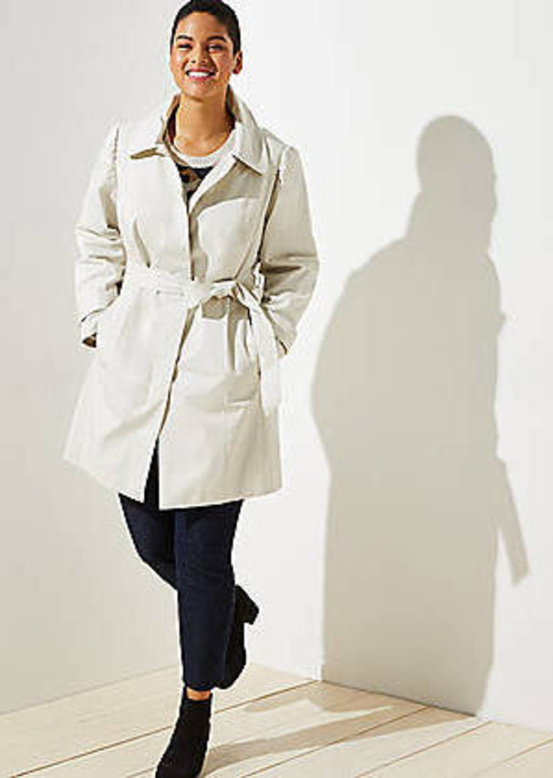 LOFT Plus Modern Trench Coat