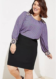 LOFT Plus Pencil Skirt