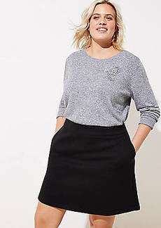 LOFT Plus Pocket Shift Skirt