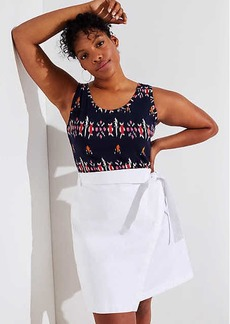 LOFT Plus Pocket Wrap Skirt