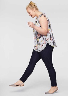 LOFT Plus Skinny Jeans in Dark Rinse Wash