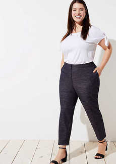 LOFT Plus Slim Custom Stretch Pants