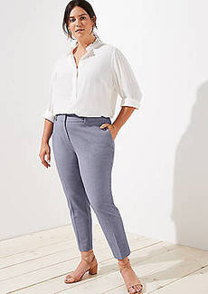 LOFT Plus Slim Pencil Pants in Custom Stretch