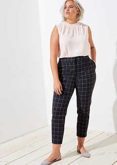 LOFT Plus Slim Pencil Pants in Windowpane