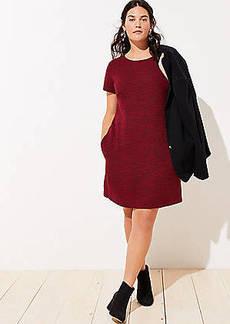 LOFT Plus Tie Back Pocket Dress