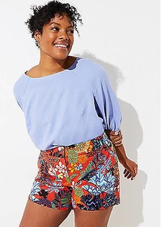 LOFT Plus Tropicalia Riviera Shorts