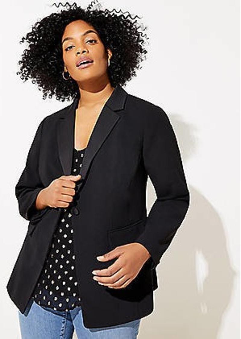LOFT Plus Tuxedo Blazer