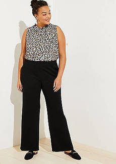 LOFT Plus Wide Leg Pull On Pants
