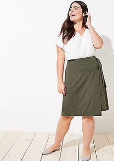 LOFT Plus Wrap Skirt