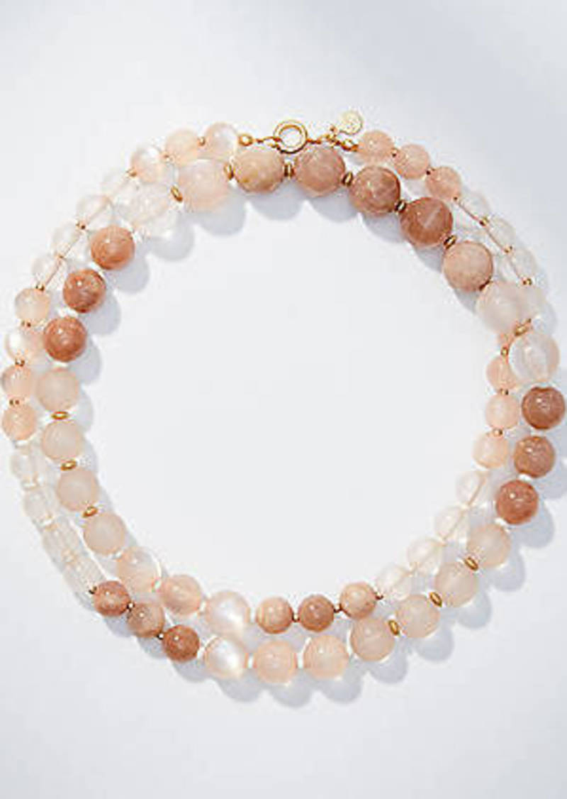 LOFT Long Beaded Necklace