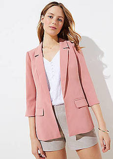 LOFT Long Open Blazer
