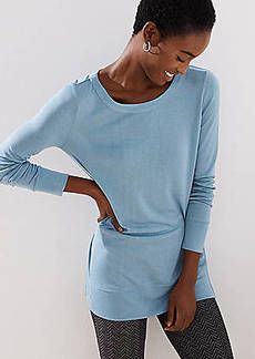 LOFT Long Sleeve Tunic Tee