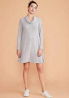 LOFT Lou & Grey Brushed Cowl Dress