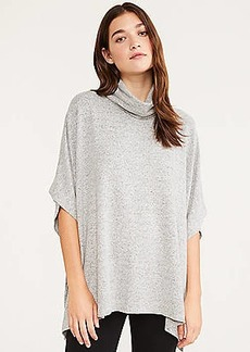 LOFT Lou & Grey Brushed Cowl Poncho Top