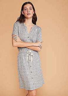 LOFT Lou & Grey Brushmarl Shirtdress