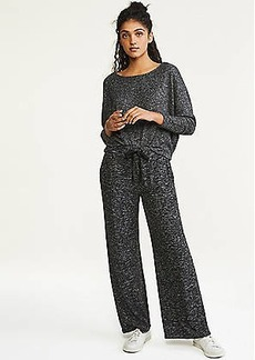 LOFT Lou & Grey Brushmarl Wide Leg Pants