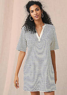 LOFT Lou & Grey Brushstripe Pocket Dress