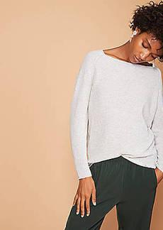 LOFT Lou & Grey Dolman Sweater Tunic