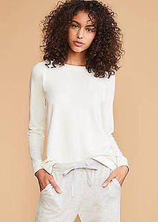 LOFT Lou & Grey Flecked Signature Softblend Top