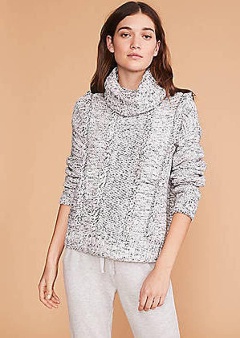 LOFT Lou & Grey Fringemarl Sweater