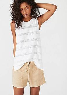 LOFT Lou & Grey Garment Dye Linen Shorts
