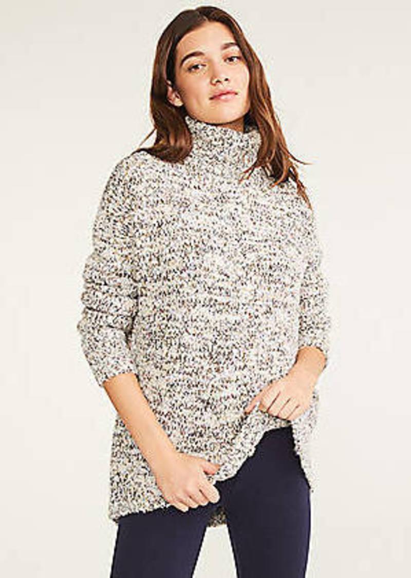 LOFT Lou & Grey Glitterknit Tunic Sweater
