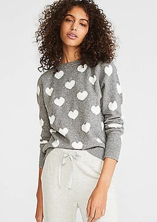 LOFT Lou & Grey Heart Sweater