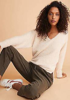 LOFT Lou & Grey Lashout V-Neck Sweater