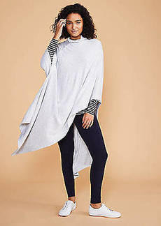LOFT Lou & Grey Long Signaturesoft Poncho