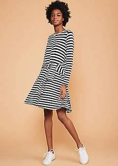 LOFT Lou & Grey Mixstripe Signaturesoft Swing Dress